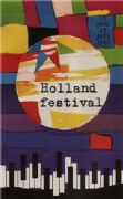 Vintage Dutch poster - Holland Festival (1960)